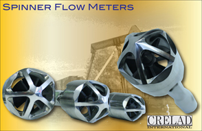 Precision Spinner Flow Meter, Crelad International